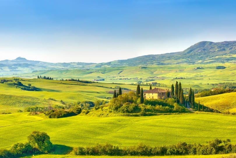 Die Maremma in der südlichen Toskana