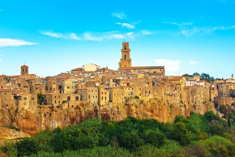 Pitigliano in der südlichen Toskana