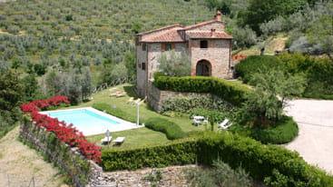 Villa in der Toskana