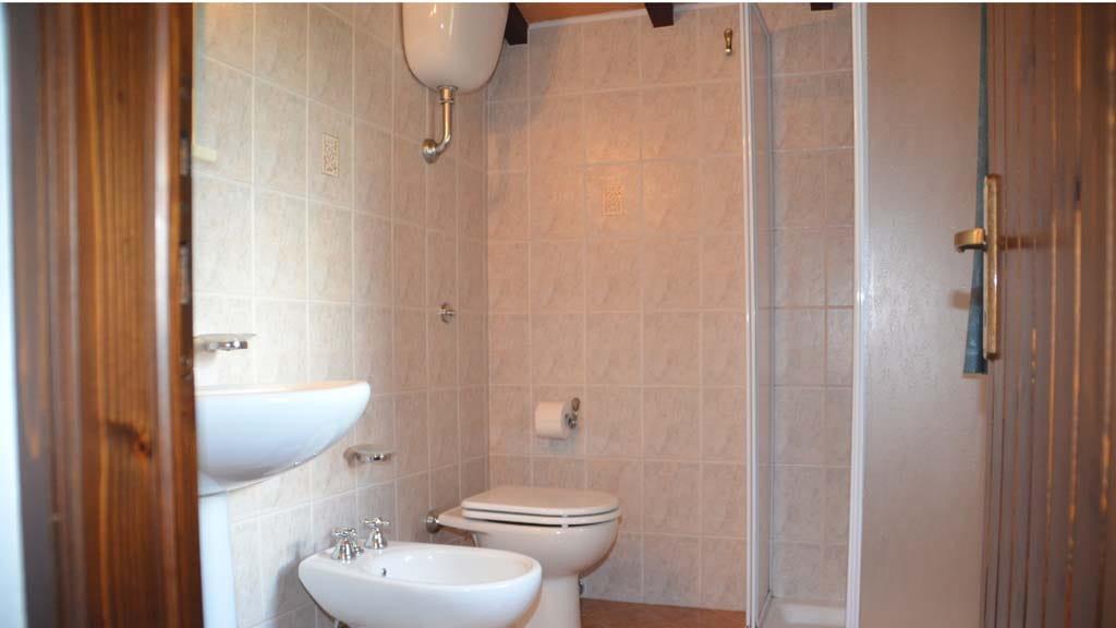 Badezimmer Casa Le Coste