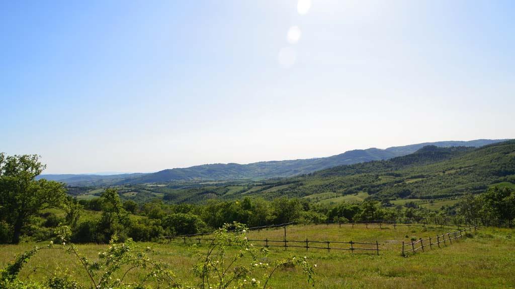 Casa Hermes Lorenzo Toskanische Landschaft