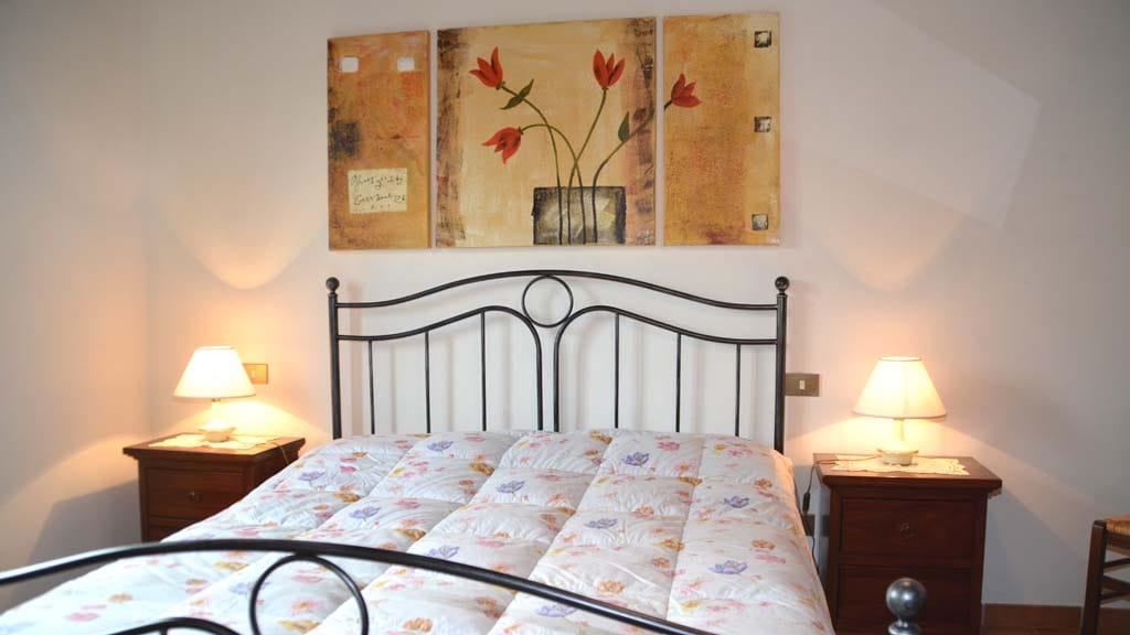 Casa Orticaia Casone Schlafzimmer