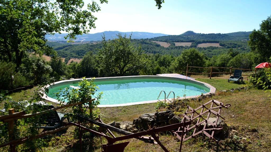 Ferienhaus Alleinlage Pool Toskana