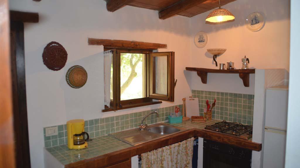 Ferienhaus Anna Küche
