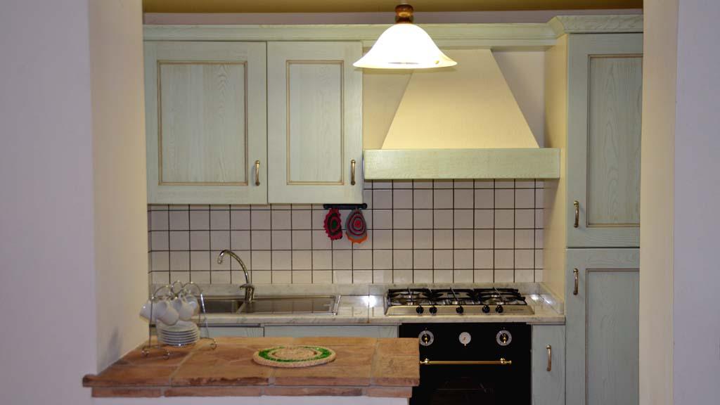 Ferienhaus Caminetto Küche