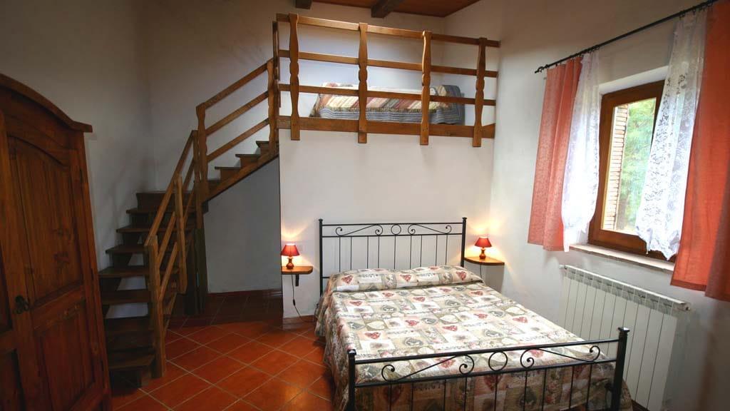 Ferienhaus Elmo Hermes Lorenzo Schlafzimmer