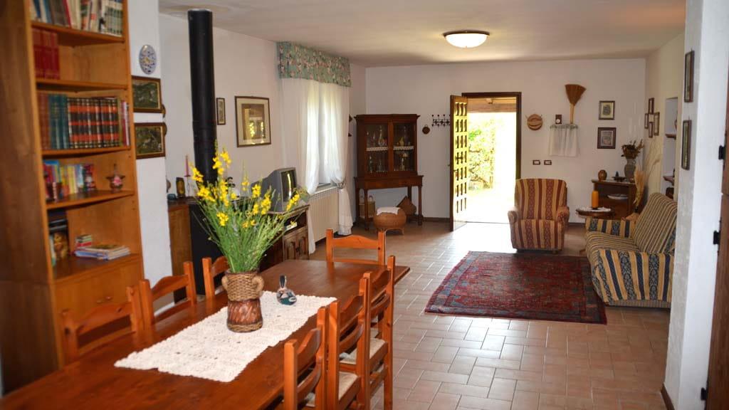Ferienhaus Felice Wohnzimmer Toskana