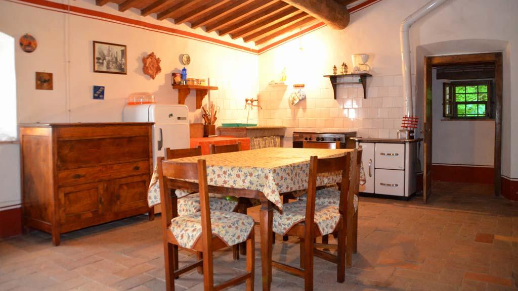 Ferienhaus Il Mulino Küche