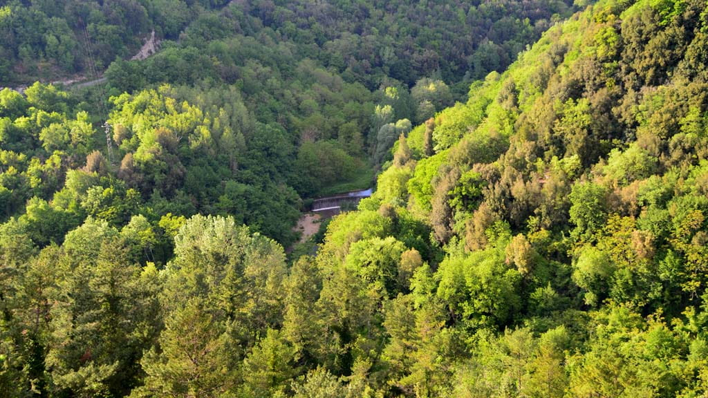 Ferienhaus Il Mulino Privater Wasserfall