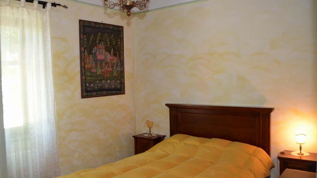 Ferienhaus Il Noce Schlafzimmer Casone