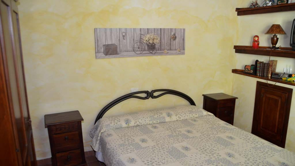 Ferienhaus Il Noce Schlafzimmer