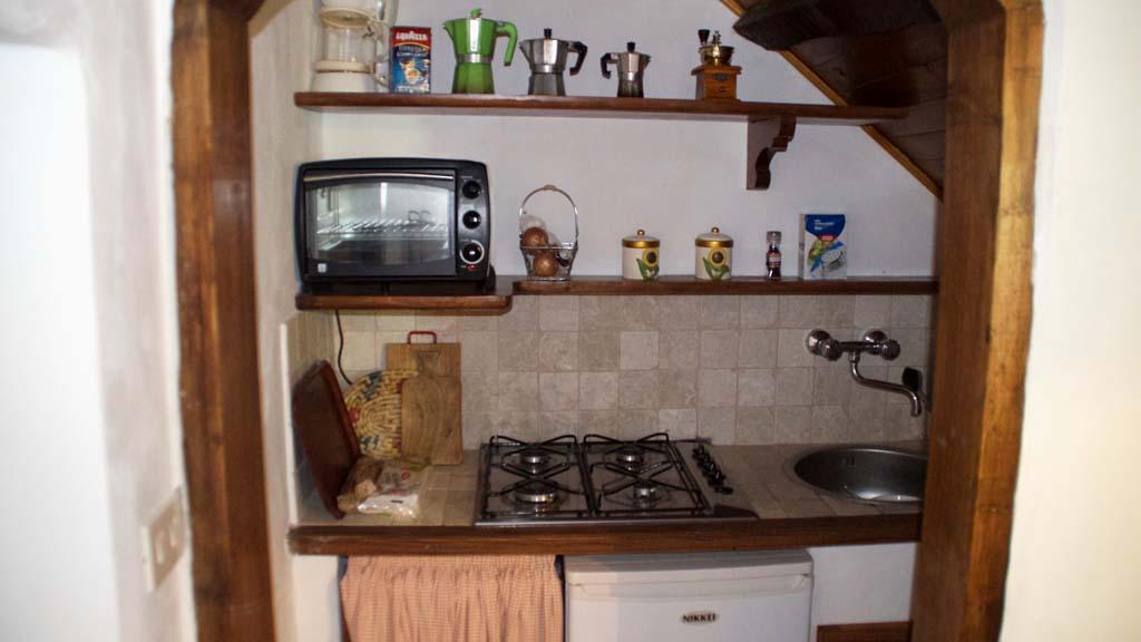 Ferienhaus Il Paradiso Küche