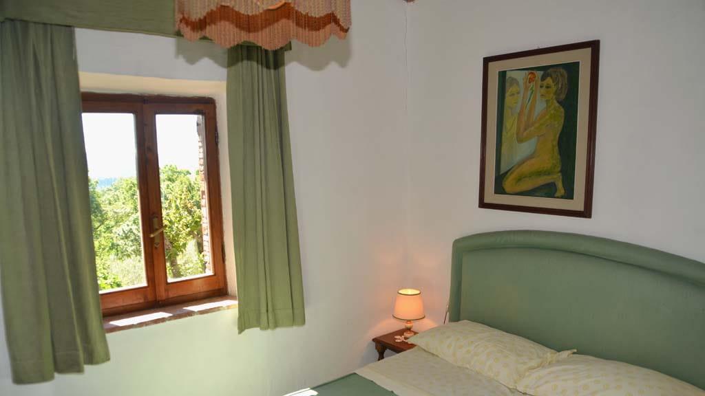 Ferienhaus Il Paradiso Schlafzimmer