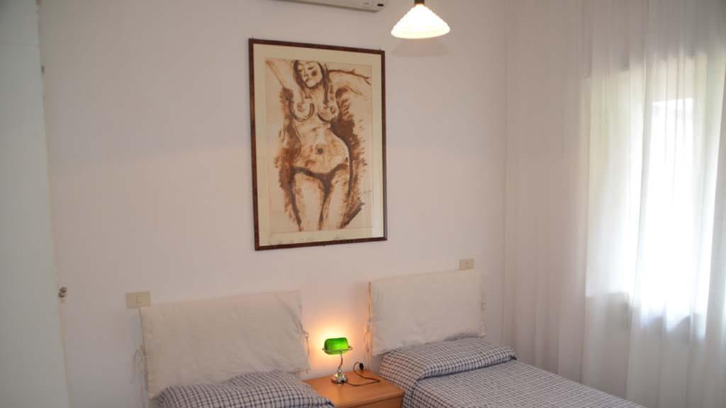 Ferienhaus La Cantoniera Schlafzimmer
