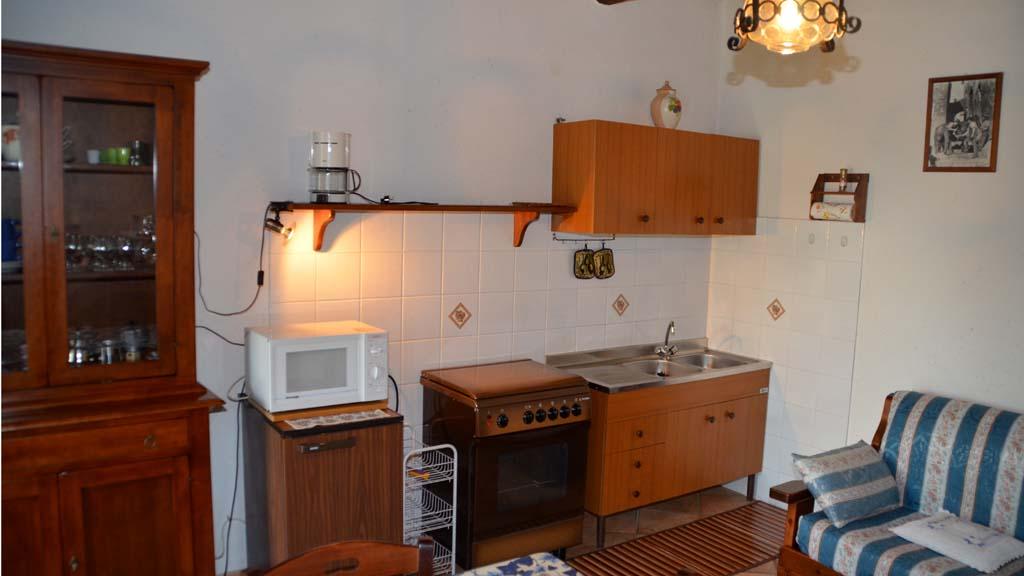 Ferienhaus Le Coste Toskana Wohnküche