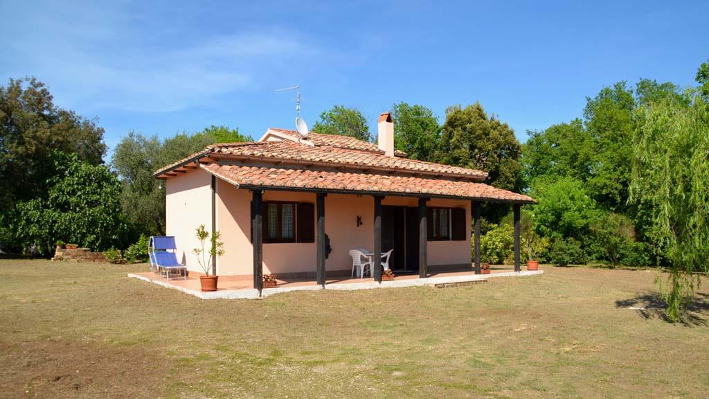 Kleines Ferienhaus in Pitigliano