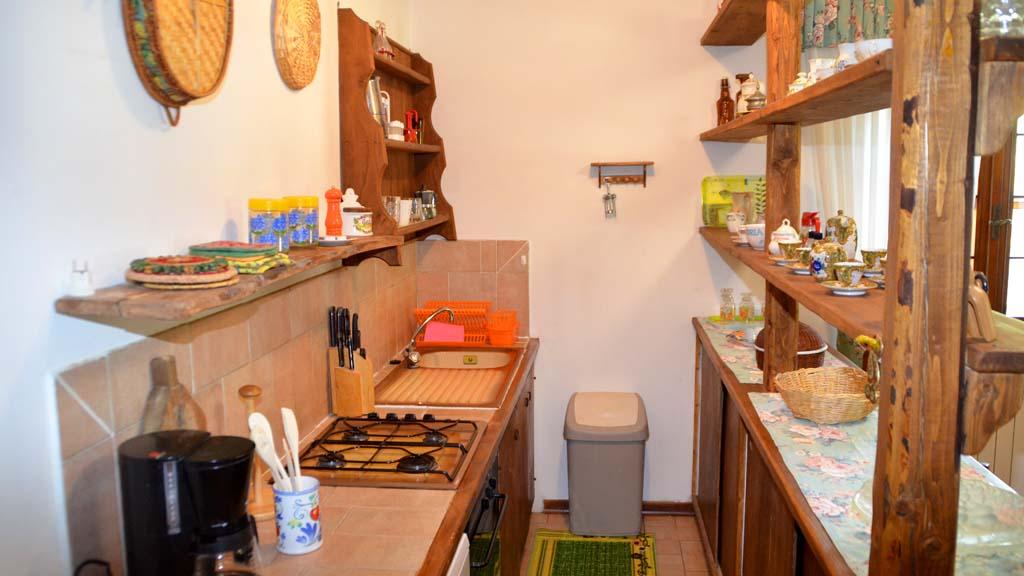 Ferienhaus Sorano Casa Felice Küche