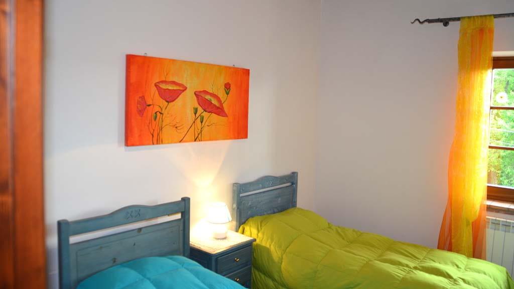 Ferienhaus Toskana Orticaia Schlafzimmer
