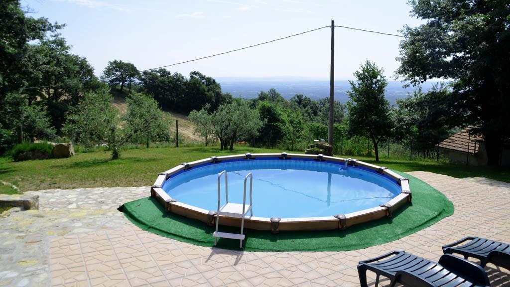 Ferienhaus Toskana Eingezäuntes Grundstück Villetta Grazia