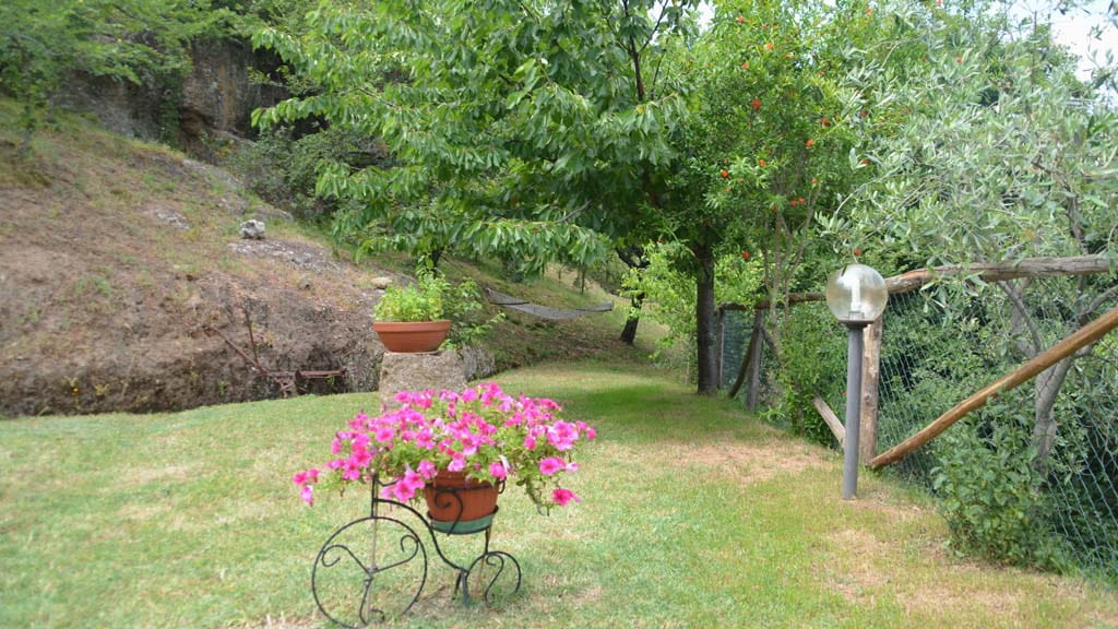 Ferienhaus Toskana Großer Garten