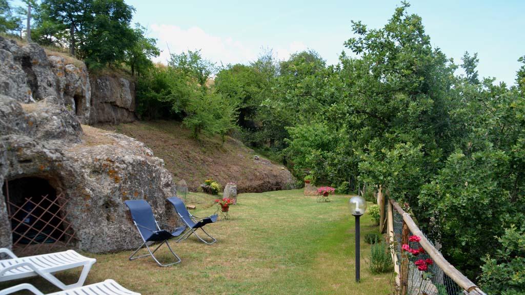 Ferienhaus Toskana Umzäuntes Grundstück