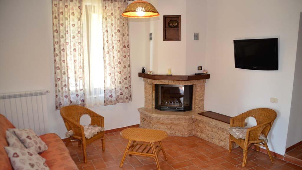Ferienhaus Villetta Grazia Maremma Wohnbereich