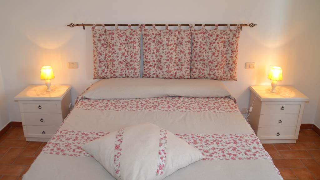 Ferienhaus Villetta Grazia Schlafzimmer
