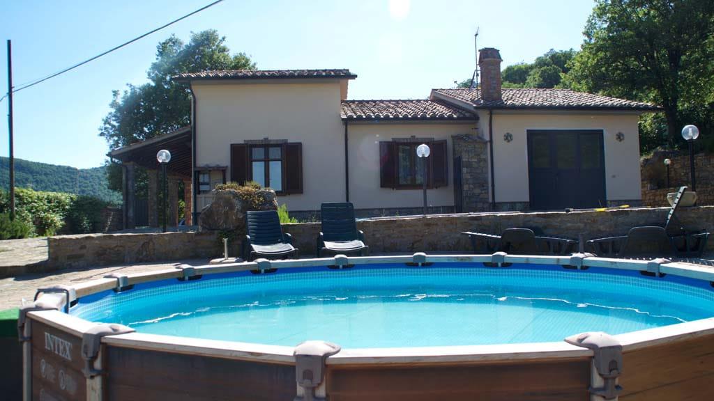Kleines Ferienhaus Mit Pool Toskana