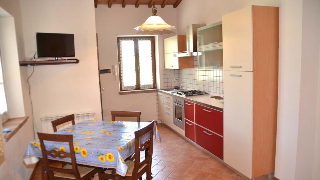 Landhaus Orticaia Küche