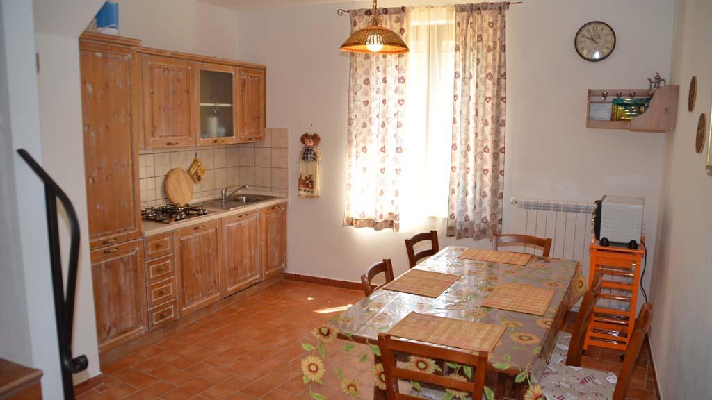 Landhaus Villetta Grazia Küche