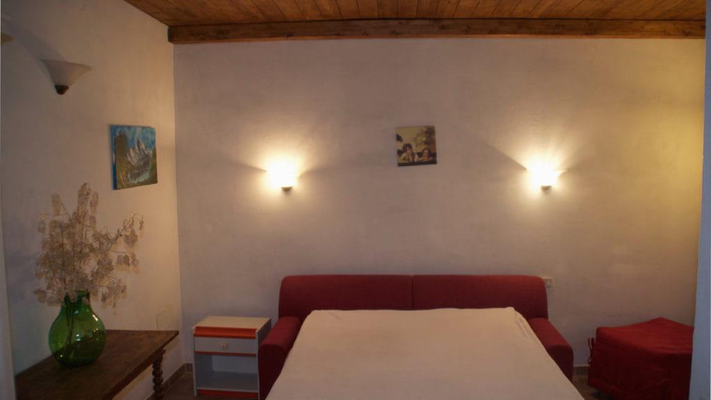 Schlafzimmer Ferienhaus La Baita