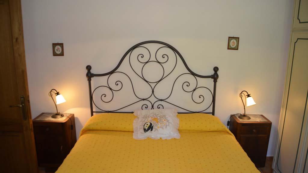 Schlafzimmer Ferienhaus Le Margherite Toskana