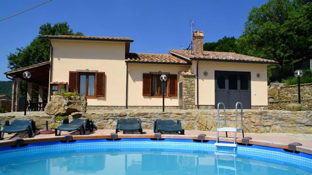 Villetta Grazia Montevitozzo Toscana