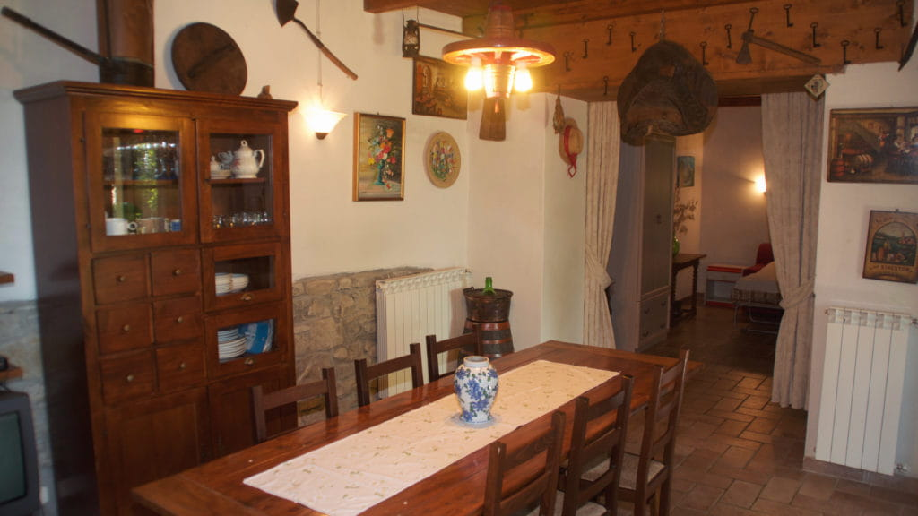 Wohnbereicht Casa La Baita