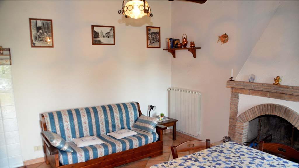 Wohnzimmer Ferienhaus Le Coste