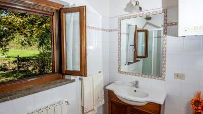 Badezimmer Casa Olmo