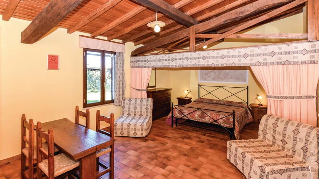 Casa La Roccia Schlaf Wohnbereich