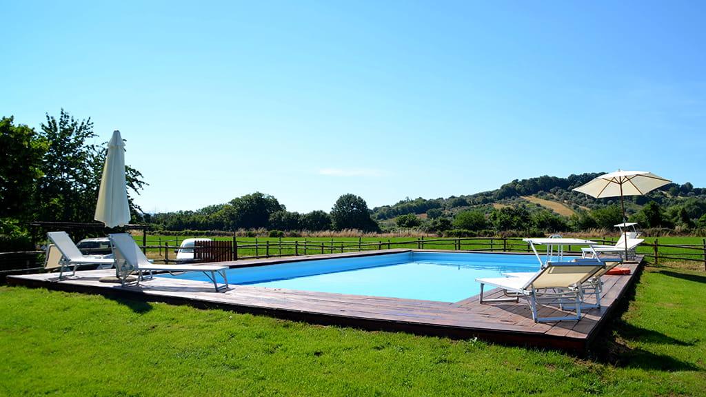 Ferienhaus Bolsena See Mit Pool