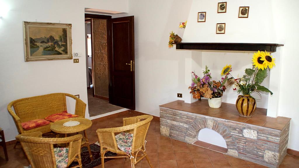 Ferienhaus Eden Maremma Wohnbereich