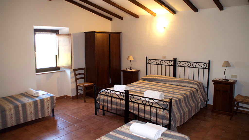 Ferienhaus Eden Schlafzimmer
