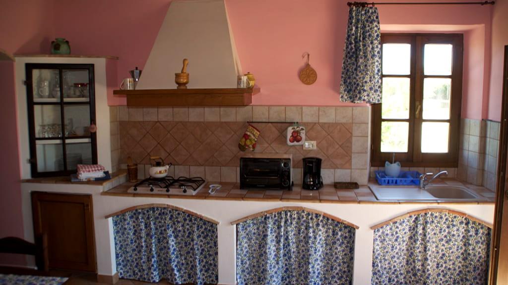 Ferienhaus Toskana Cantinaccia Schlafzimmer Kueche