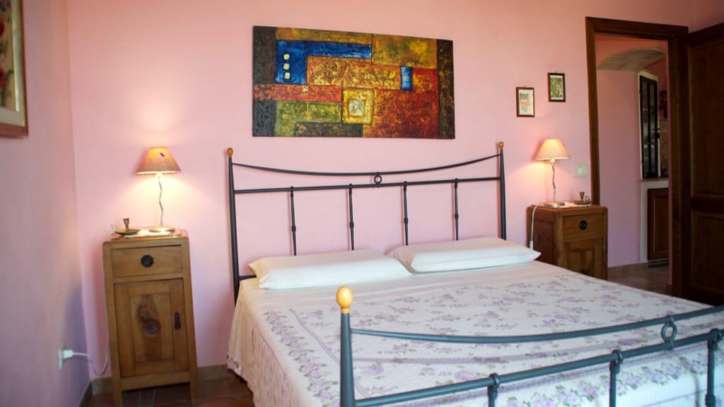 Ferienhaus Toskana Cantinaccia Schlafzimmer