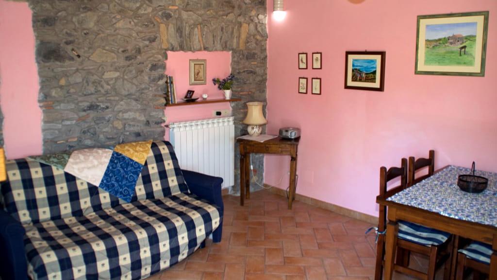 Ferienhaus Toskana Cantinaccia Wohnraum