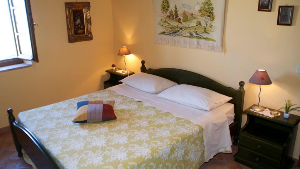 Landhaus Toscana Cantinaccia Schlafzimmer
