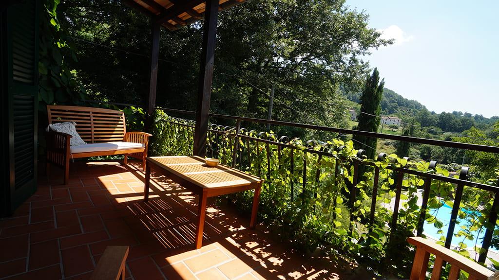 Villa Bistoni Terrasse Toscana