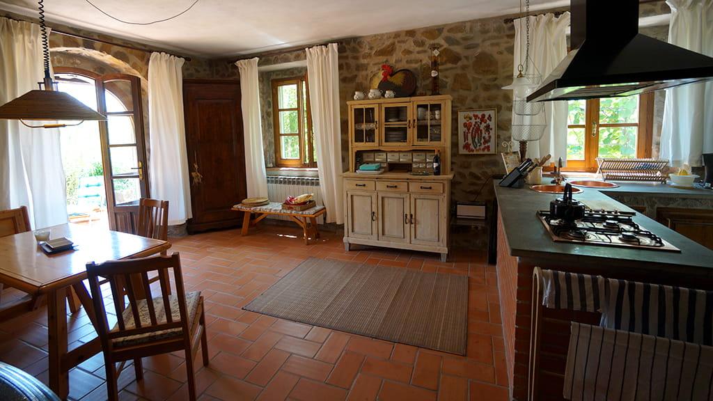 Villa Bistoni Wohnkueche