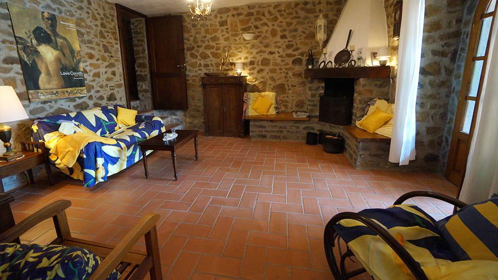 Villa Bistoni Wohnzimmer