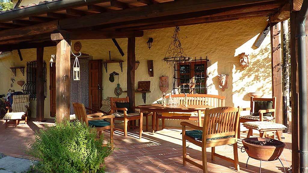 Villa Dondolini Terrasse