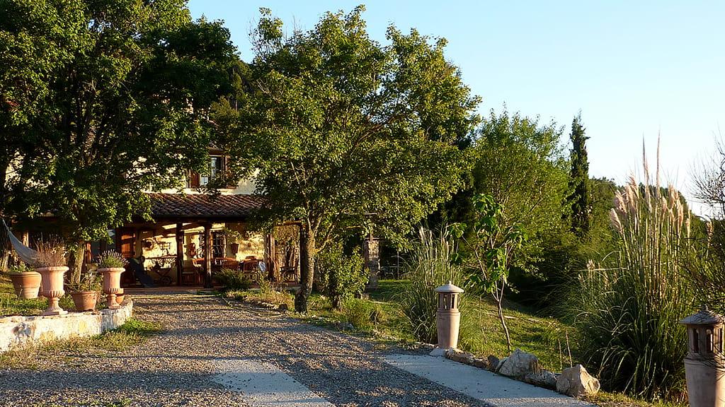 Villa Dondolini Zufahrt