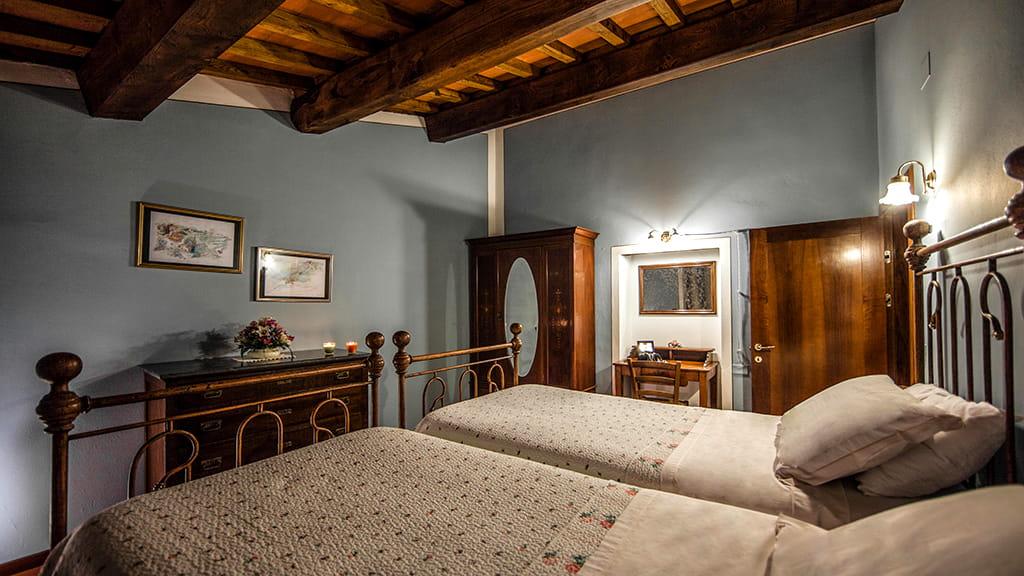 Villa La Guardata Schlafzimmer Toscana
